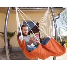 Amazonas California Terracotta Hanging Chair with Omega Stand