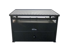 Pur Line Freestanding Bio-ethanol Steel Barbecue Grill BB02