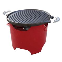 Pur Line Steel Clean Burning Bio-ethanol Portable BBQ Grill BB03