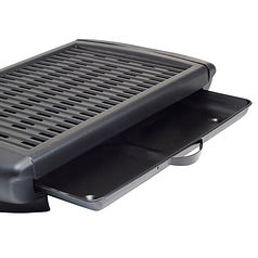 Electric BBQ and Cast Aluminium Grill