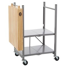 Bradley Foldable Kitchen Cart