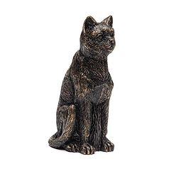 Antique Bronze Cat Cane Companion