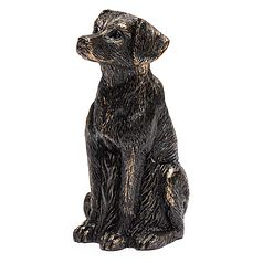 Antique Bronze Labrador Cane Companion