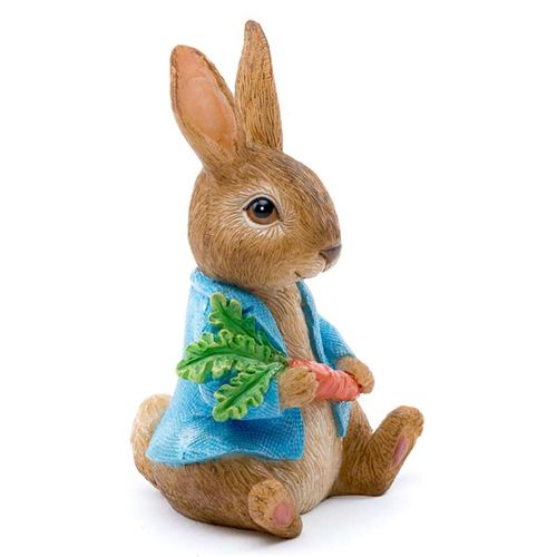 Beatrix Potter's Peter Rabbit Holding A Carrot Coloured Cane Companion