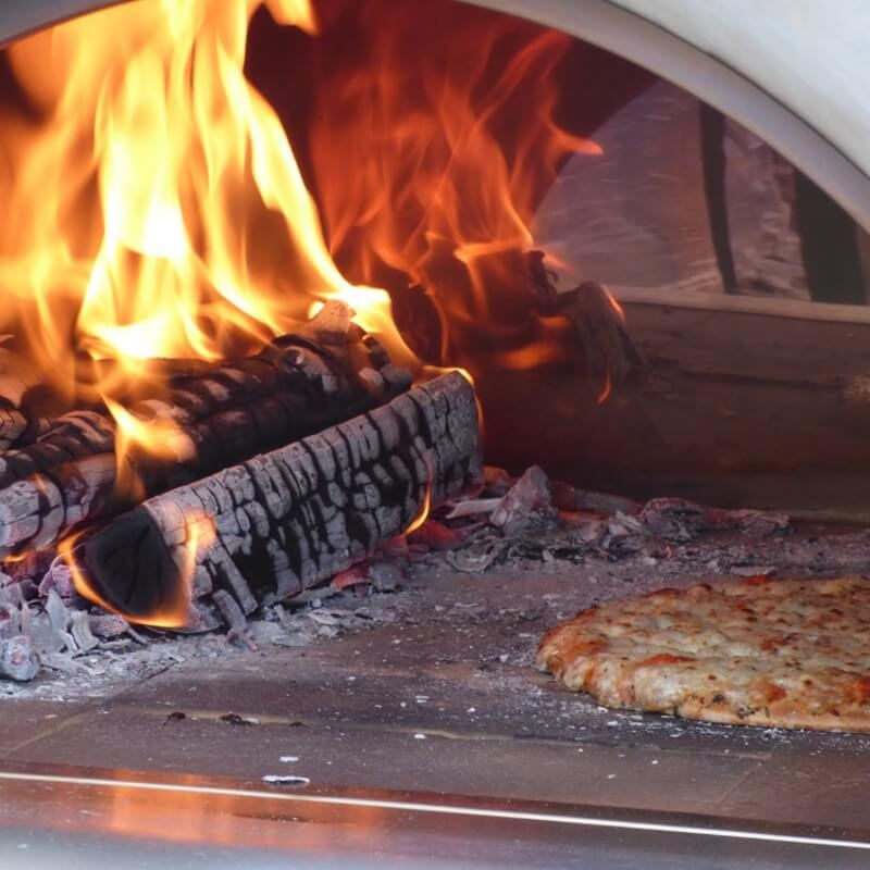 Large Steel Wood Fired Pizza Oven Package