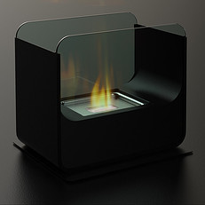 Deluxe Bio Ethanol Table Fire