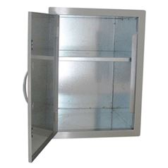 Flush Mounted Larder Cupboard with Adjustable Shelf