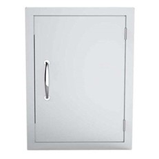 Flush Mounted Vertical Single Door