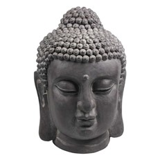 Ornamental Buddha Head Garden Sculpture