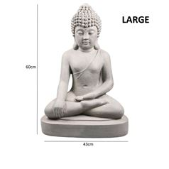 Outdoor Indoor Seated Buddha Statue