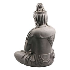Ornamental Seated Statue of Kwan Yin Praying
