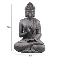 Seated Statue of Buddha for Indoor or Outdoor Display
