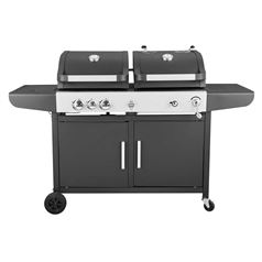 Large Callow Dual Fuel Gas and Charcoal BBQ Grill