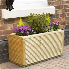 Ellesmere Rectangular Timber Garden Planter