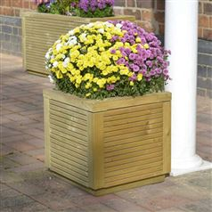 Ellesmere Square Timber Garden Planter
