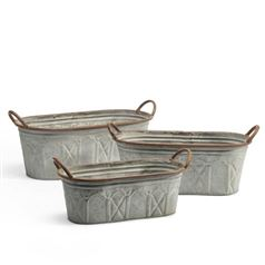 Lucas Garden Troughs Set of 3