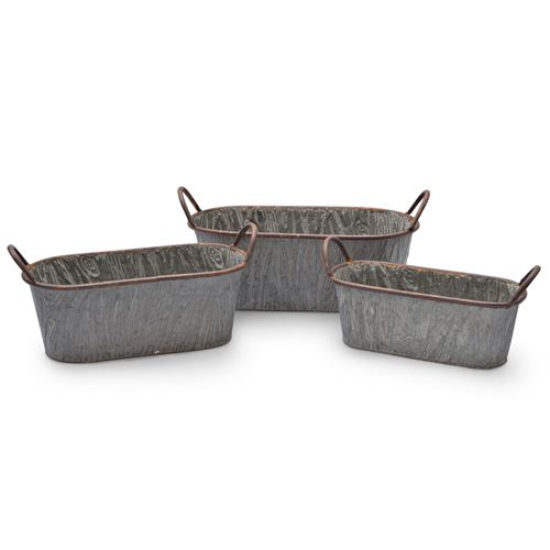 Willoughby Garden Troughs Set of 3