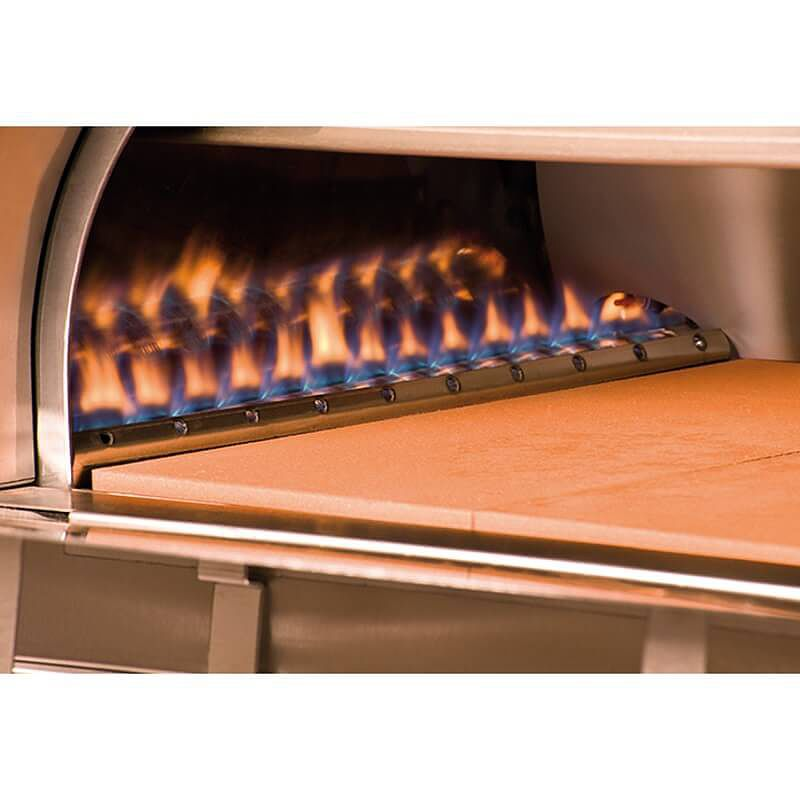 Outdoor gas pizza oven gas fired outdoor ovens by alfa pizza for Forno per pizza a gas