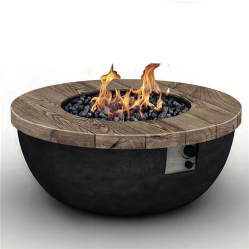 Foremost Outdoor Gas Bowl Fire Pit Table