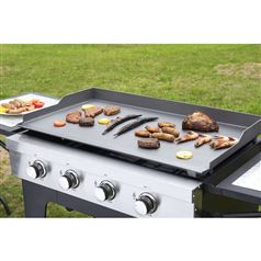 Outdoor Gas BBQ Plancha with Trolley