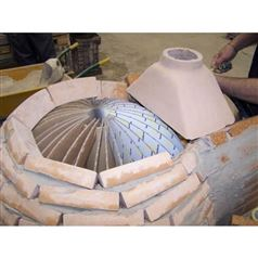 DIY Brick Pizza Oven Template Cardboard Former