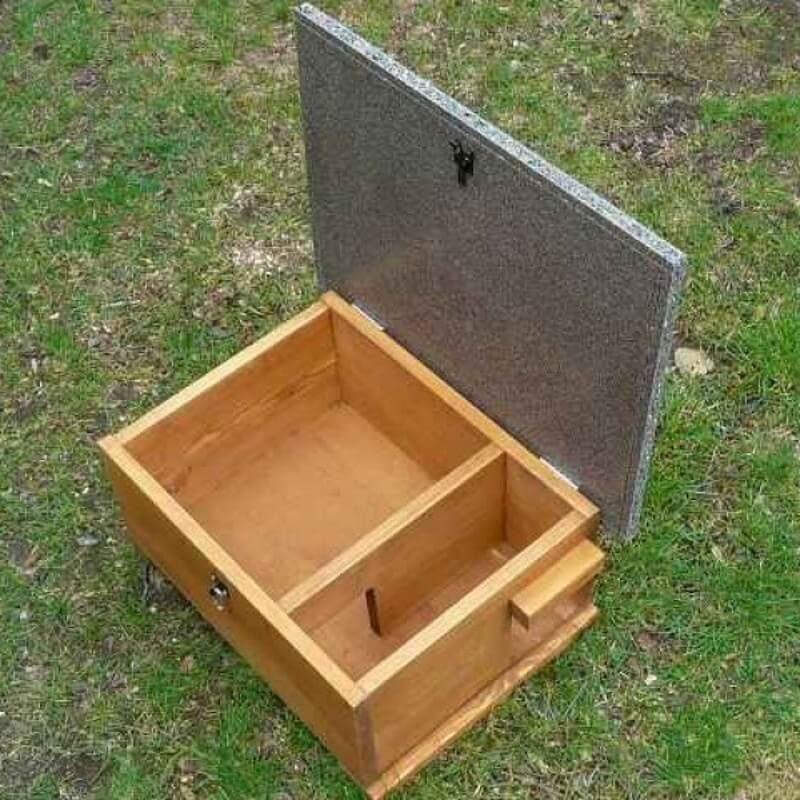 Hedgehog Hibernation House And Nest Box For Warm Dry Shelter