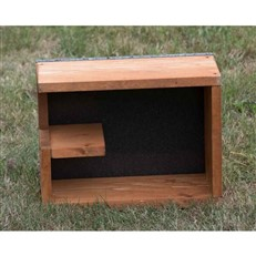 Hedgehog Feeder and Snug Box