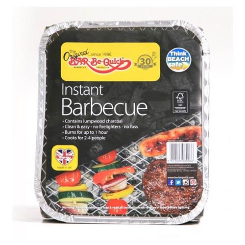 Bar-be-Quick Disposable Instant Barbecue