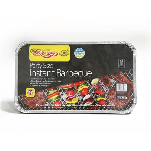 Bar-be-Quick Disposable Party Barbecue