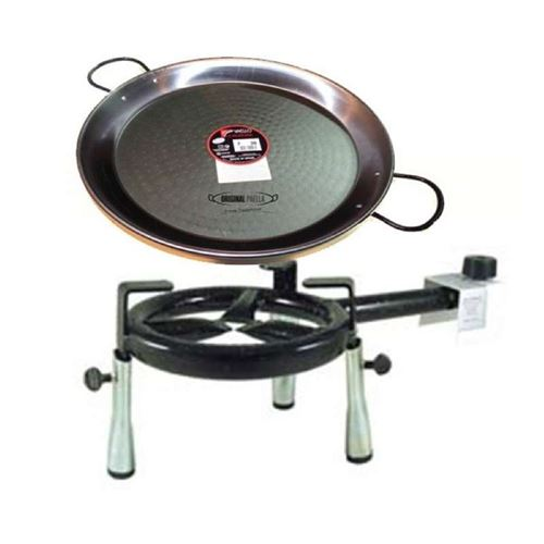 Outdoor Tabletop Paella Set for 4 People