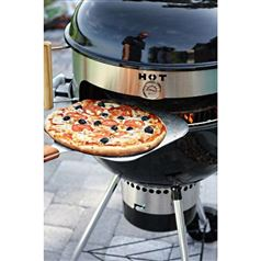Kettle Pizza Prograte and Tombstone Combination Kit for 22.5-Inch Kettle BBQ