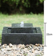 Contemporary Square Outdoor Water Fountain