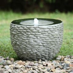 Pebble Outdoor Water Fountain
