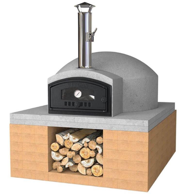 build your own outdoor pizza oven kit 80cm. Black Bedroom Furniture Sets. Home Design Ideas