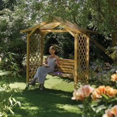 Dartmouth Garden Arbour with Swing Seat