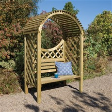 Keswick Two Seater Timber Arbour