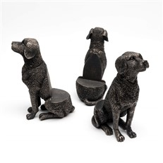 Labrador Dog Plant Pot Feet