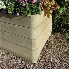 Marberry Rectangular Garden Planter