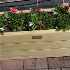 Marberry Rectangular Patio Planter