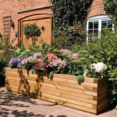 Large Rectangular Patio Planter