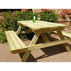 5ft Wooden Picnic Table