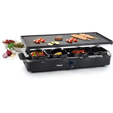 1400W Raclette with Reversible Duplex Griddle