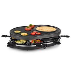 Gourmet Raclette Grill for 8
