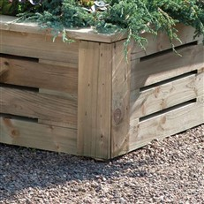 Heavy Duty 6x3 Raised Bed