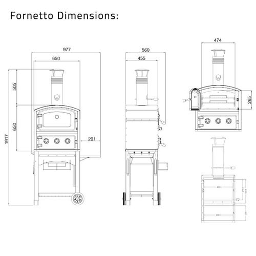 Fornetto Wood Fired Oven and Smoker