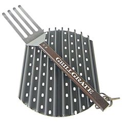 Set of 2 Interlocking GrillGrates for BBQs with a 14 Inch Diameter