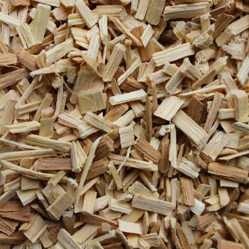Bbq flavour wood chips g