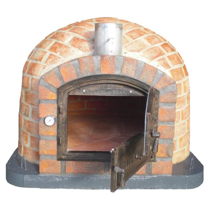 Rustico Outdoor Brick Pizza Oven 110cm