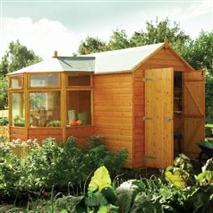 Corner Garden Potting Shed