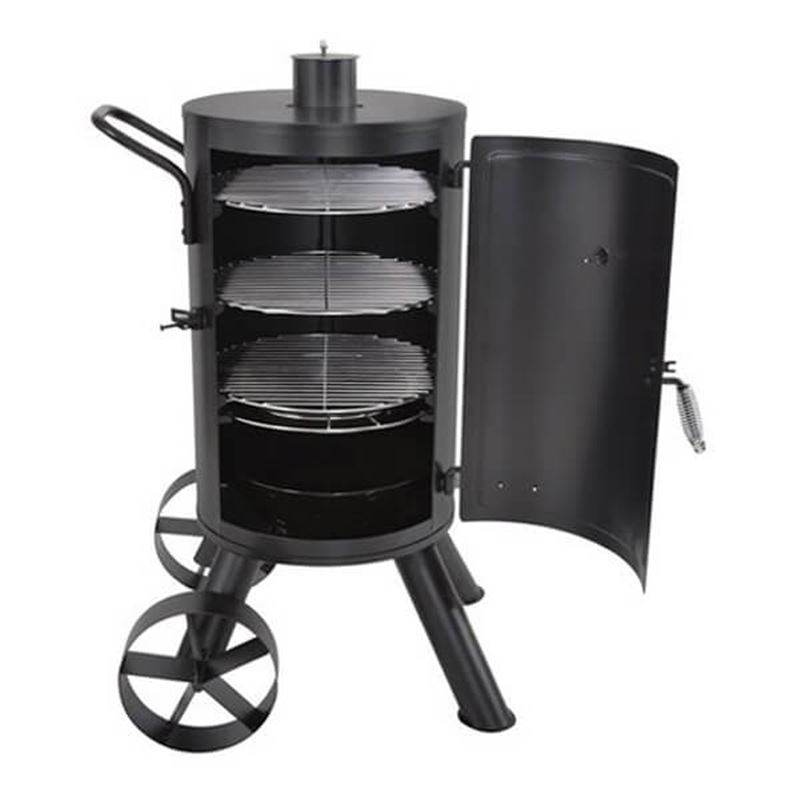 smokehouse outdoor charcoal bbq smoker. Black Bedroom Furniture Sets. Home Design Ideas